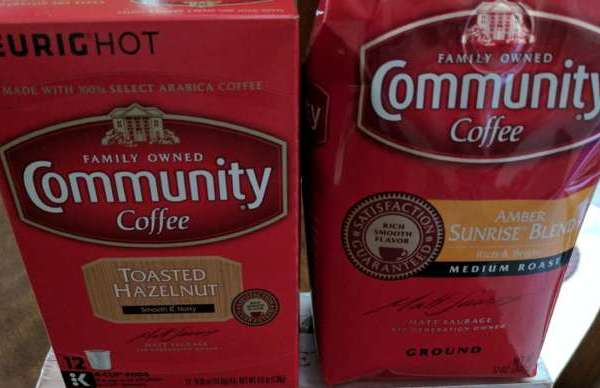 Enjoy NEW Community Coffee, Amber Sunrise Blend & Toasted Hazelnut #AD