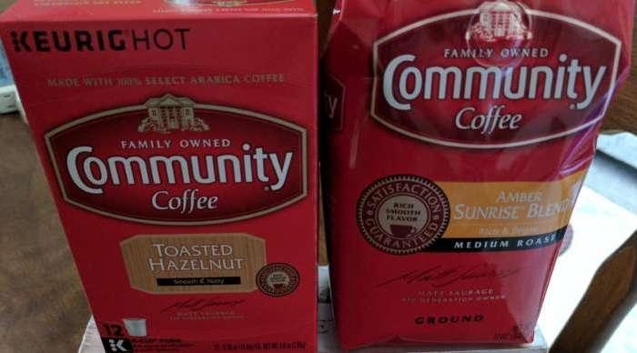 Enjoy NEW Community Coffee, Amber Sunrise Blend & Toasted Hazelnut #AD