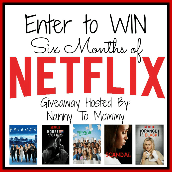 6 Months Netflix Free Streaming Giveaway Event!
