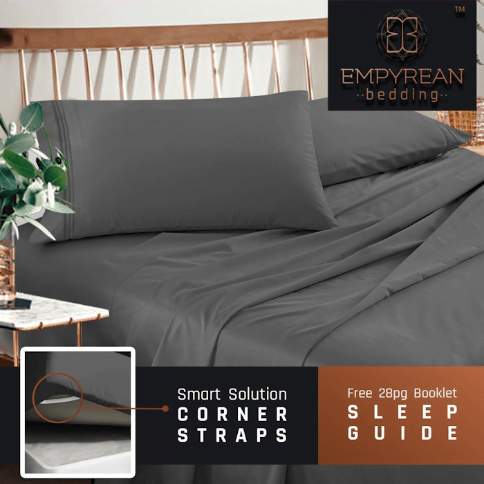 Empyrean Bedding Sheets Turn Your Bed into a Luxurious Bed #AD