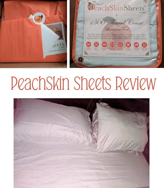 PeachSkinSheets Make your Bed a Luxurious Retreat! #AD