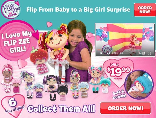 Flipzee girls doll giveaway