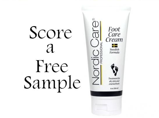 free nordic care foot cream