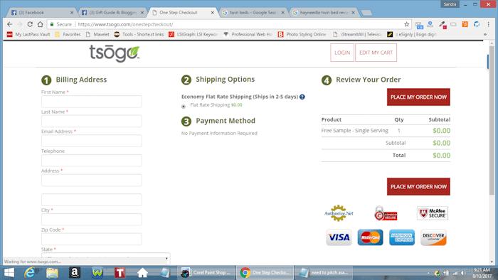 Free Tsogo Meal Replacement Shake