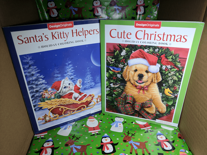 Holiday Coloring Books