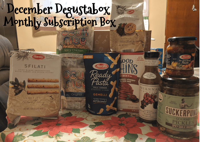 December Degustabox