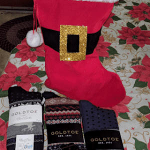 Include Warm Cozy Gold Toe Socks for Stocking Stuffers #Christmas2017 #AD