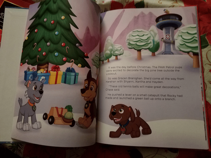 Paw Patrol Christmas Adventure