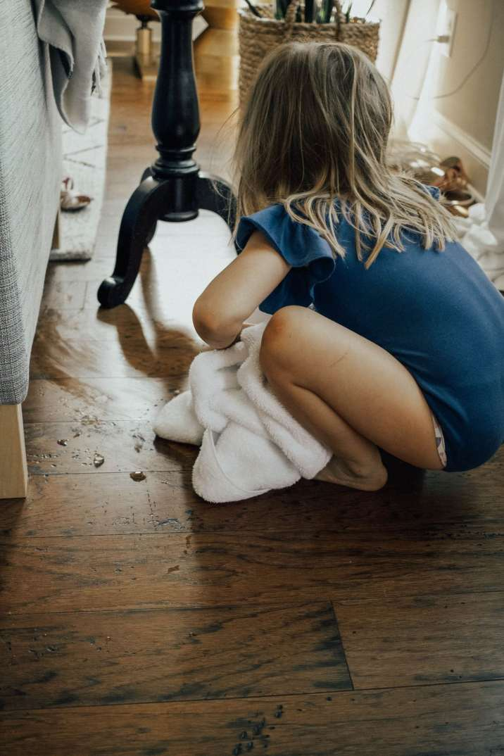 Household Chores for Preschoolers featured by popular Tennessee Mom Blogger, Modern Day Moguls