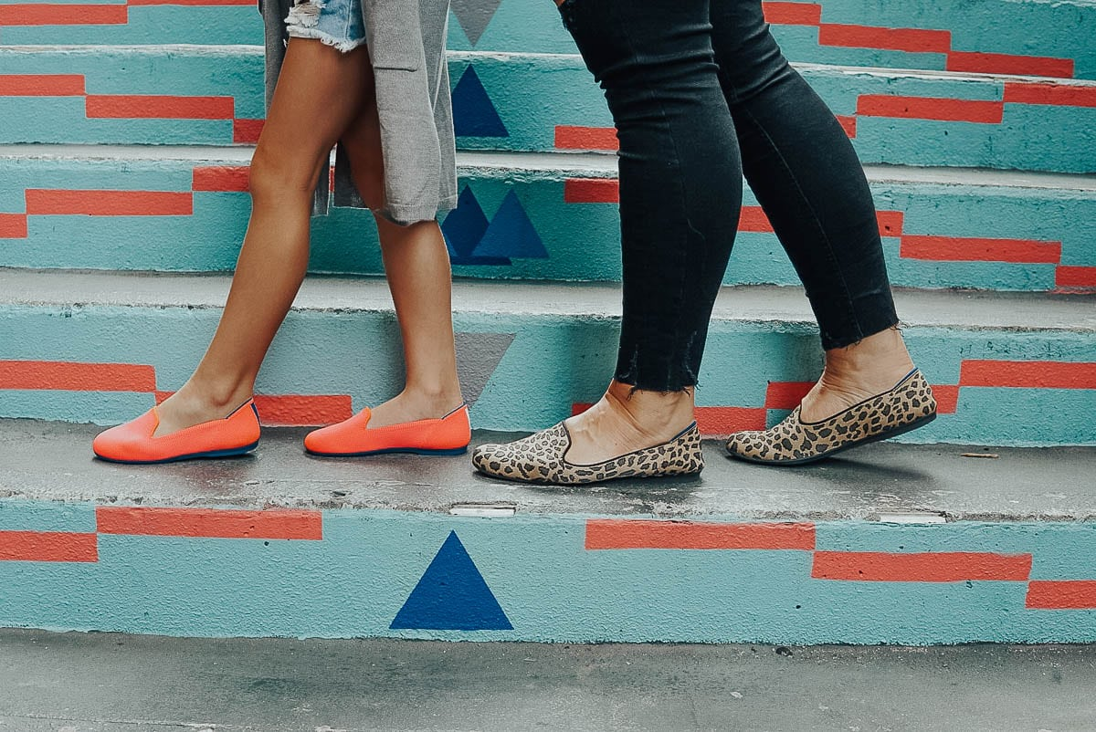Mommy & Me Fashion: Rothy's Flats