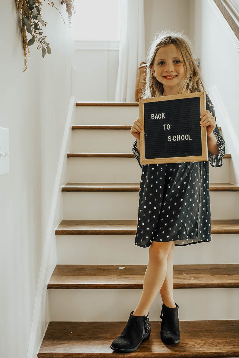 Establishing A Back To School Routine for Kindergartners featured by popular Tennessee mom blogger Modern Day Moguls