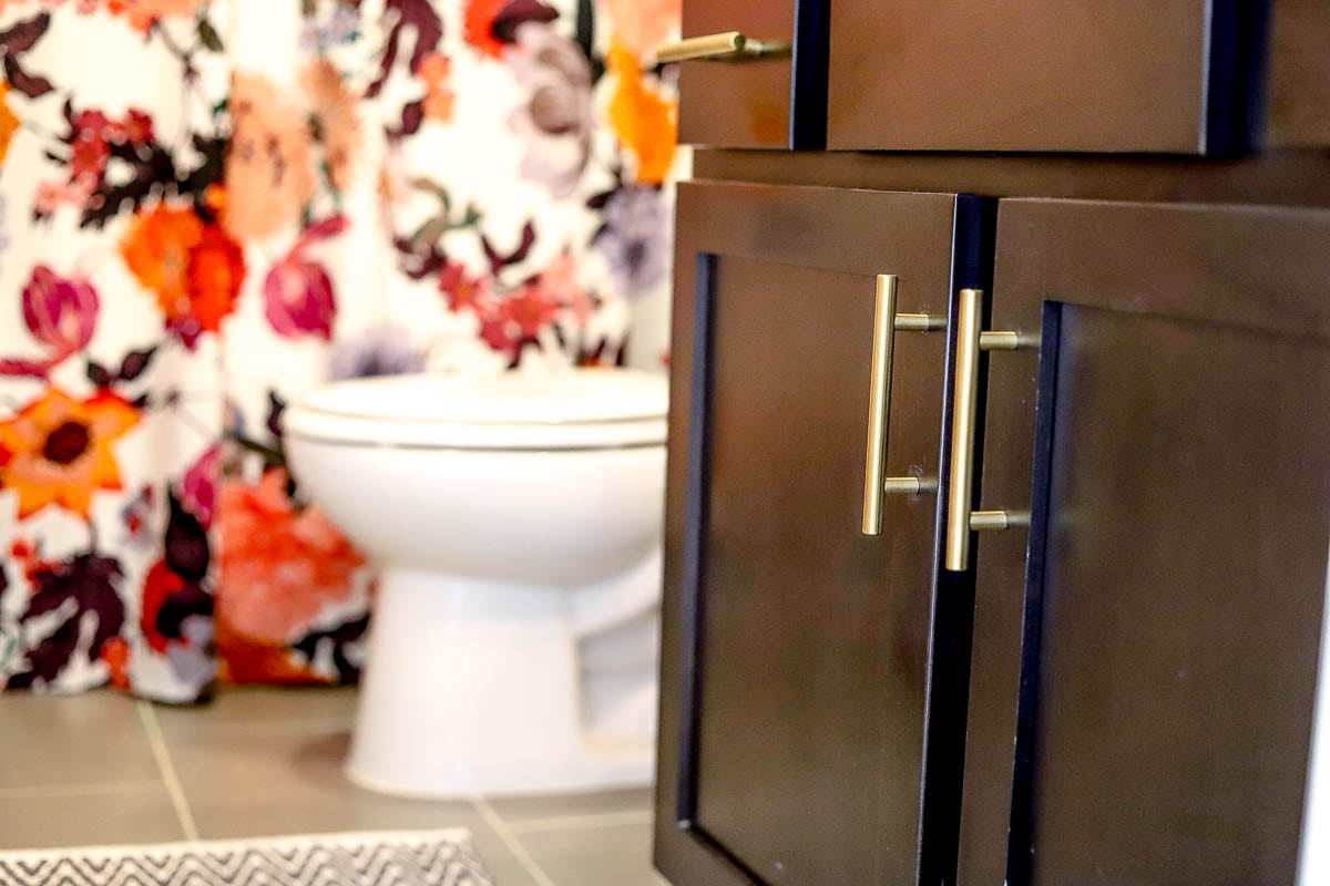 DIY | Pinterest | Before and After Bathroom Update featured by top Tennessee lifestyle blog Modern Day Moguls