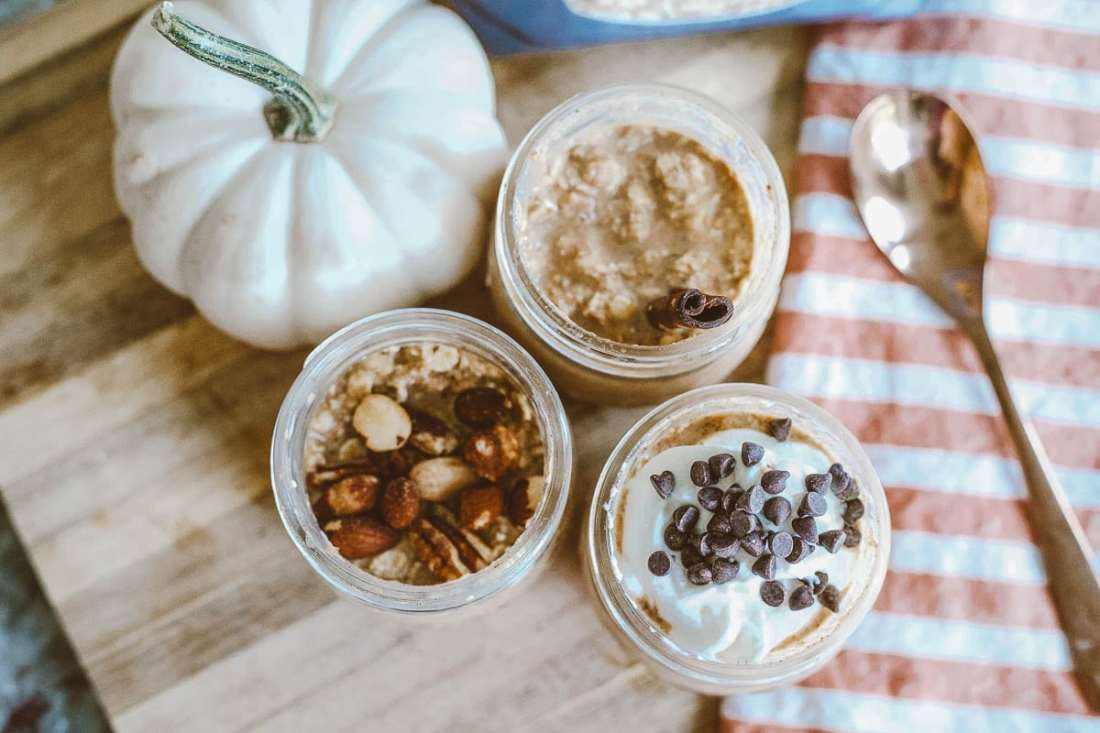Pumpkin PIE Overnight Oats Recipe featured by top Tennessee lifestyle blog Modern Day Moguls