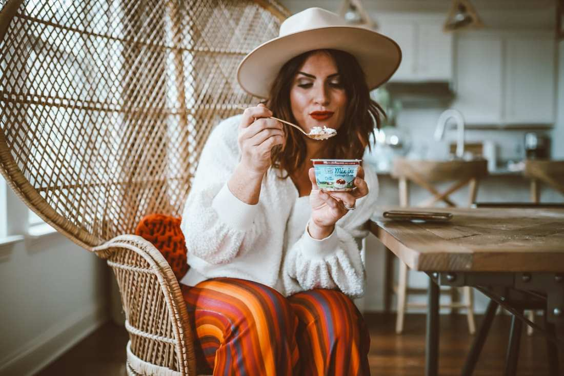Healthy Living   DairyPure Cottage Cheese Mix-Ins : Cottage Cheese Is Making a Comeback featured by top Nashville life and style blog Modern Day Moguls