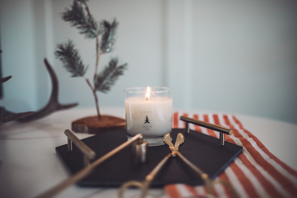Luxury Trapp Candles Create Hygge This Holiday Season by popular Nashville lifestyle blog, Modern Day Moguls: image of a Trapp White Fir Candle.