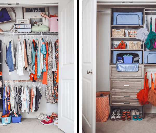 How to Organize Kids Closets Seasonally