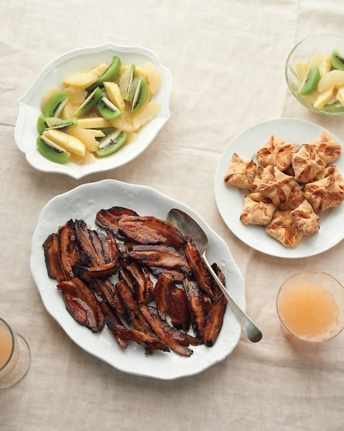Cider-Braised Slab Bacon