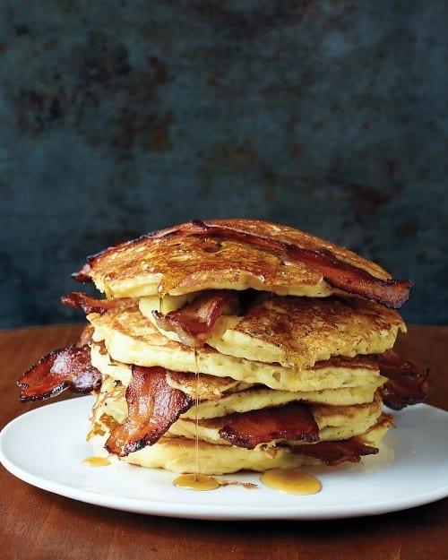 Sweet & Savory Bacon Pancakes
