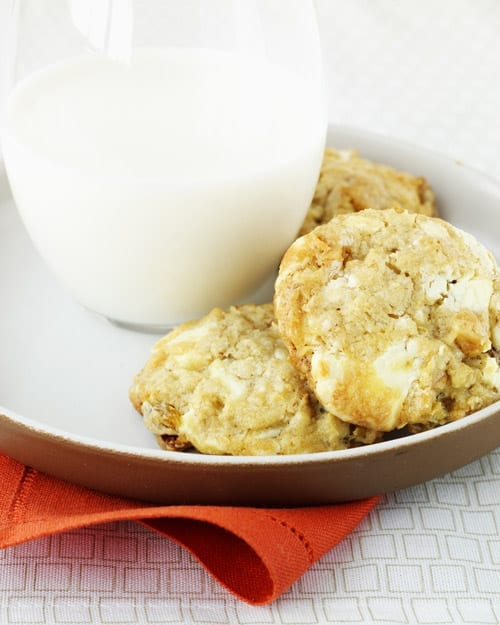 White Chocolate-Chunk Cookies
