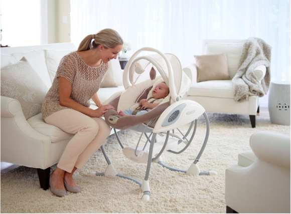 The Graco Glider family of swings aims to reinvent the swing category through the first introduction of the gliding motion into a baby swing.