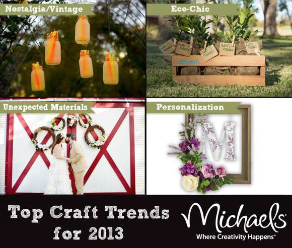 MICHAELS STORES 2013 CRAFT TRENDS