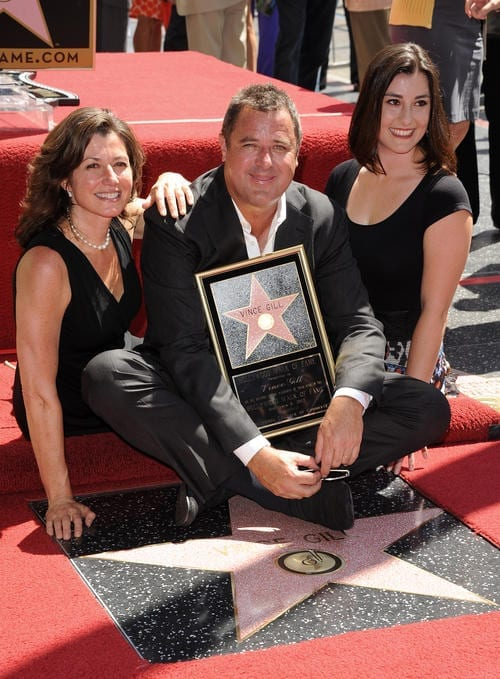Vince Gill Walk of Fame