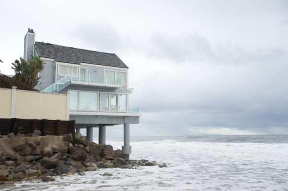 Storm Surf in Malibu