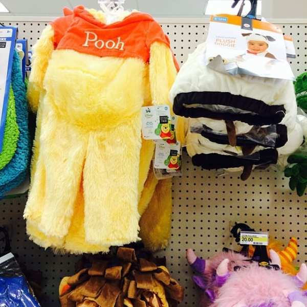 Okay fine... Pooh too! #TargetHalloween