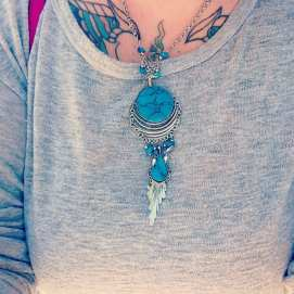 Turquoise Necklaces from Earthbound Trading Co.