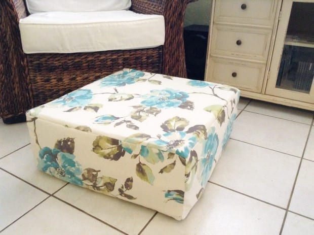 DIY Floor Pillow ? Modern Day Moms
