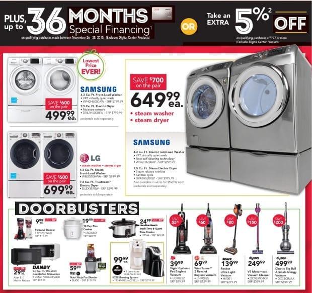 hhgregg - Black Friday Ad - Appliances - Small Appliances