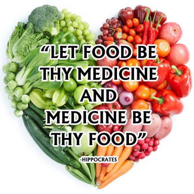 Image result for let food be thy medicine and medicine be thy food. ― hippocrates