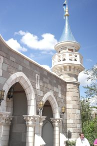 Gates to Princess Rapunzels house