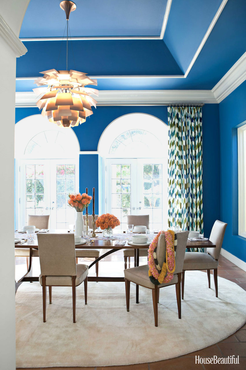 10 Astonishing Color Scheme Ideas For Dining Rooms That