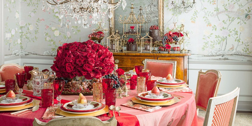 How To Decorate Your Dining Room For Valentines Day