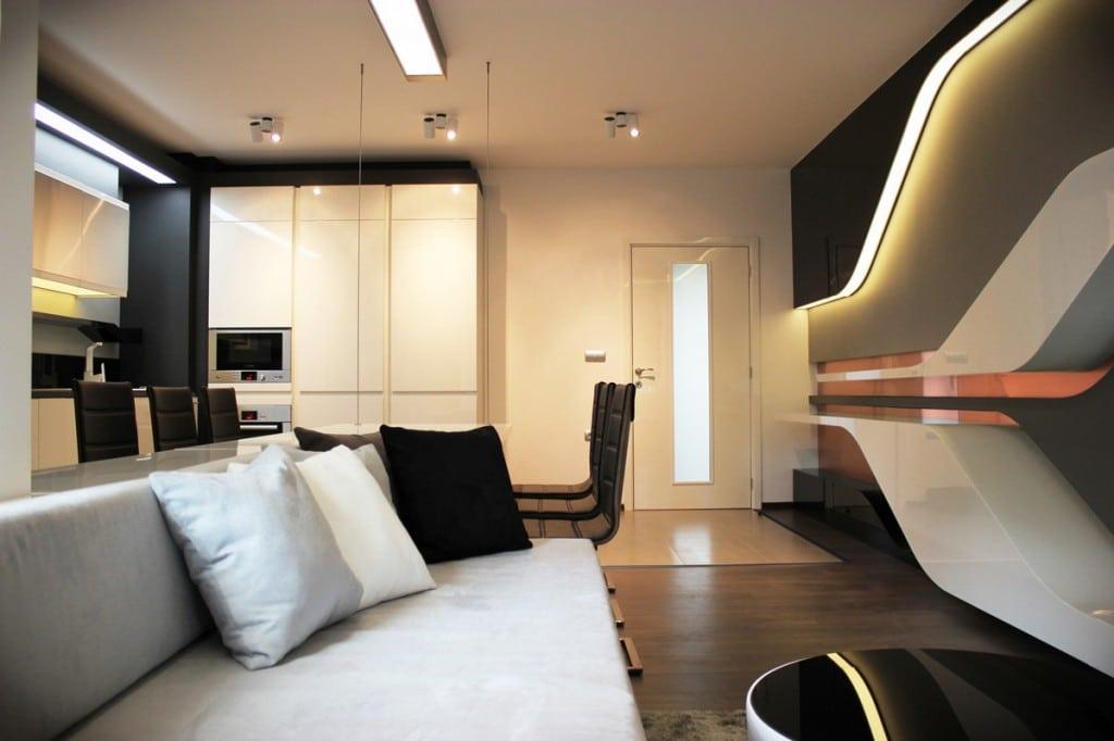 Appartement Futuriste Moderne House 1001 Photos