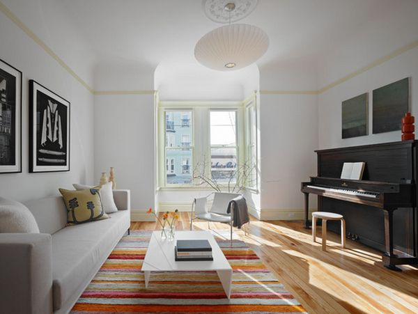 blanc pour les murs de votre salon