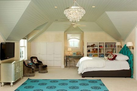 chambre turquoise et noir modern and whimsical nursery with ...