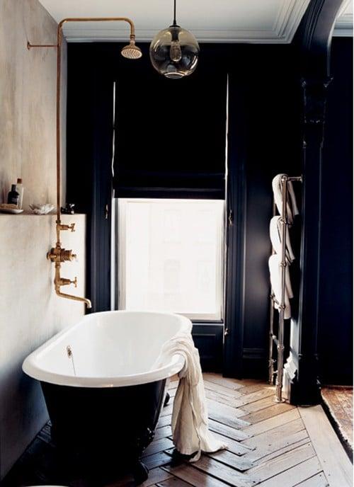 Salle De Bain Noire 53 Idees Deco Originales A Couper Le Souffle