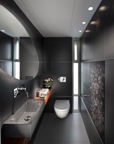 salle de bains noire 53 exemples inspirants et inoubliables