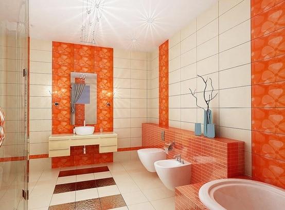 Salle De Bain Orange 54 Idees Pour Inspirer Votre Deco