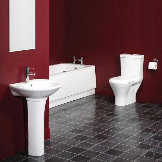 salle de bains rouge 82 idees pour dynamiser votre salle de bain