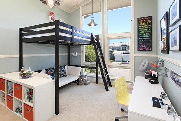 lit mezzanine 35 idees deco comment l integrer dans une chambre moderne