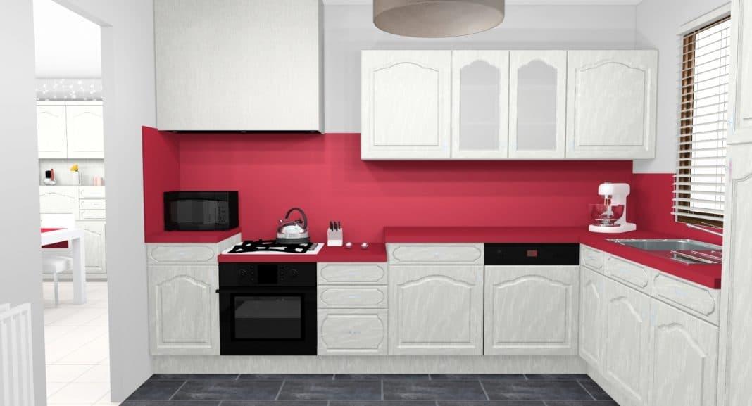 cuisine rouge et blanche 13 idees et conseils pour l agencer