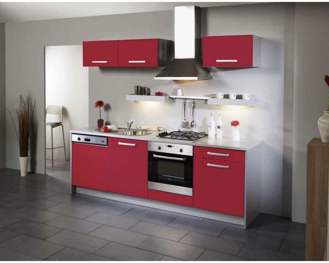Idee Deco Cuisine Rouge Et Gris - Novocom.top