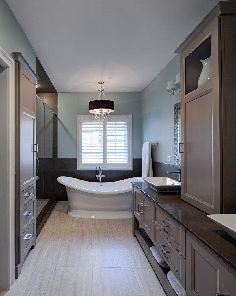salle de bain taupe 35 idees d amenagement avec un mobilier zen