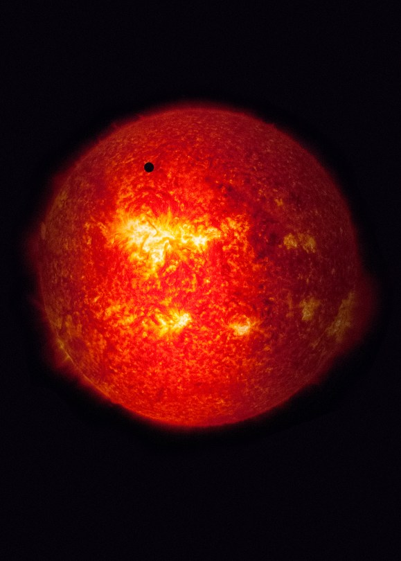 Mercury passing in front of the Sun