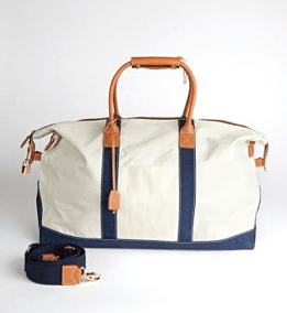 J.Mclaughlin Medium Sailcloth Duffle $225