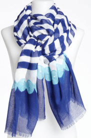 4 - Nine West Nautical Stripe Scarf