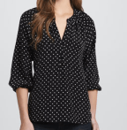 Joie Addie B Polka Dot Top $228